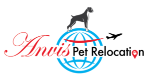 Elegant, Modern, Pet Logo Design for Anvis Pet Relocation by