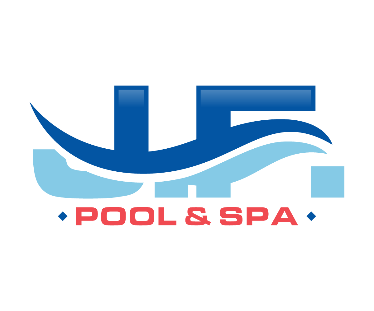 Serious professional pool service logo design for j f for Pool design logo