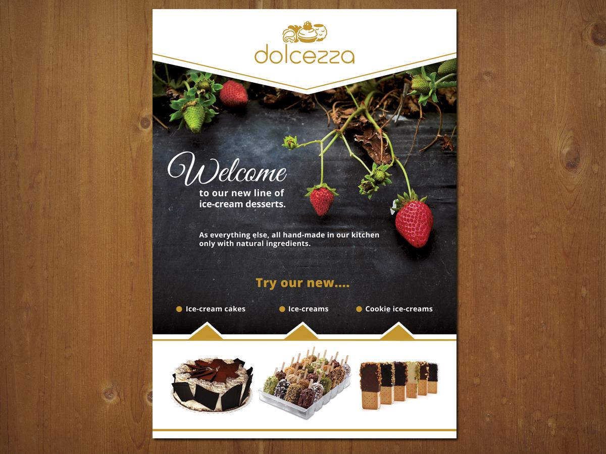Brochure Cake