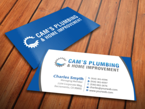 Home improvement business ideas remodeling business cards home serious modern business card designs for a business in united colourmoves Image collections