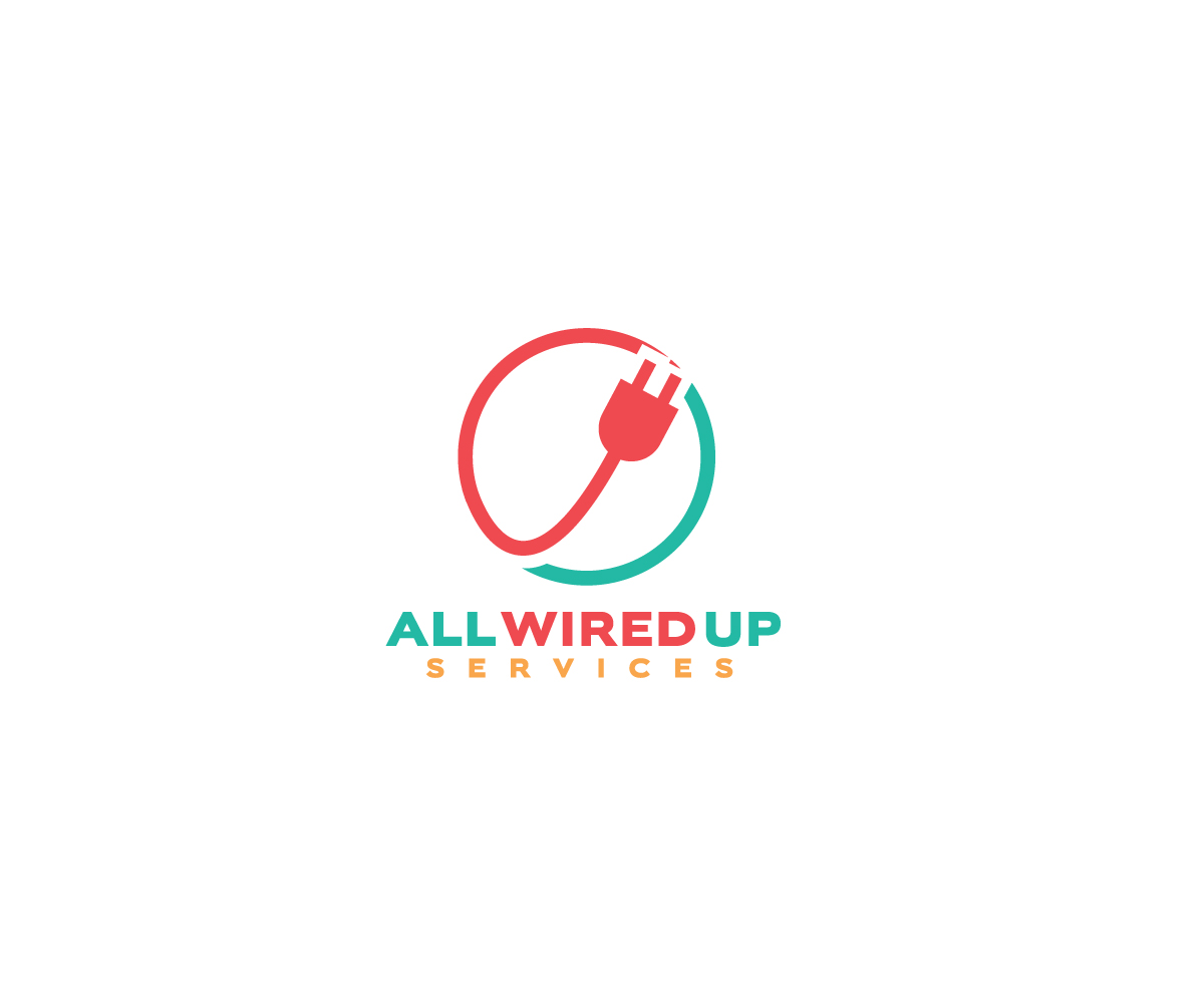 Professional, Upmarket, Electrician Logo Design for All wired up ...