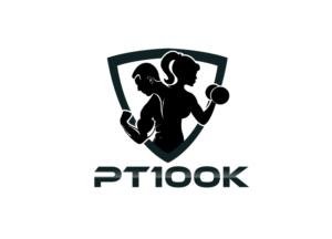 elegant playful fitness logo design for pt100k by godonyo design rh designcrowd com