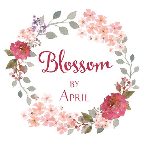 Elegant Traditional Florist Logo Design For Blossom By April In United Kingdom 6923996