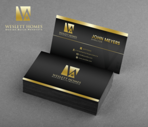 77 Masculine Bold Home Builder Business Card Designs for a Home ...