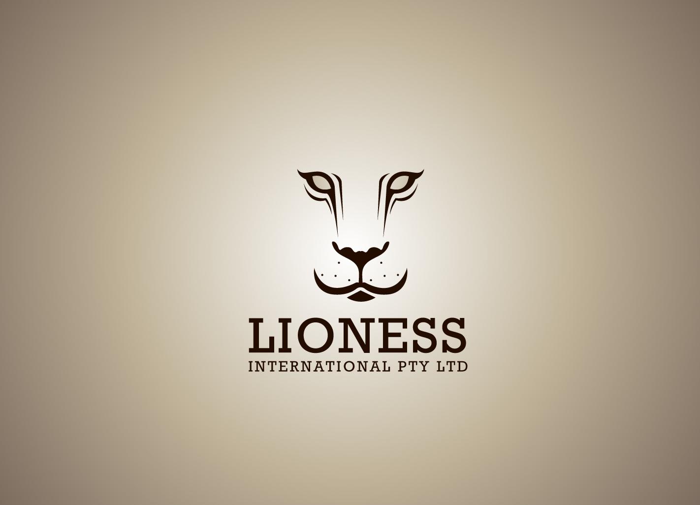 Feminine bold logo design for lioness international pty for Decor 18 international pty ltd