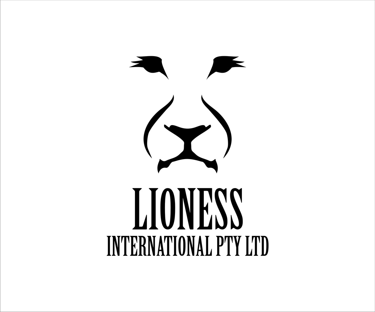 54 feminine bold logo designs for lioness international for Decor 18 international pty ltd