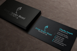 83 Bold Professional Health Care Business Card Designs for a ...