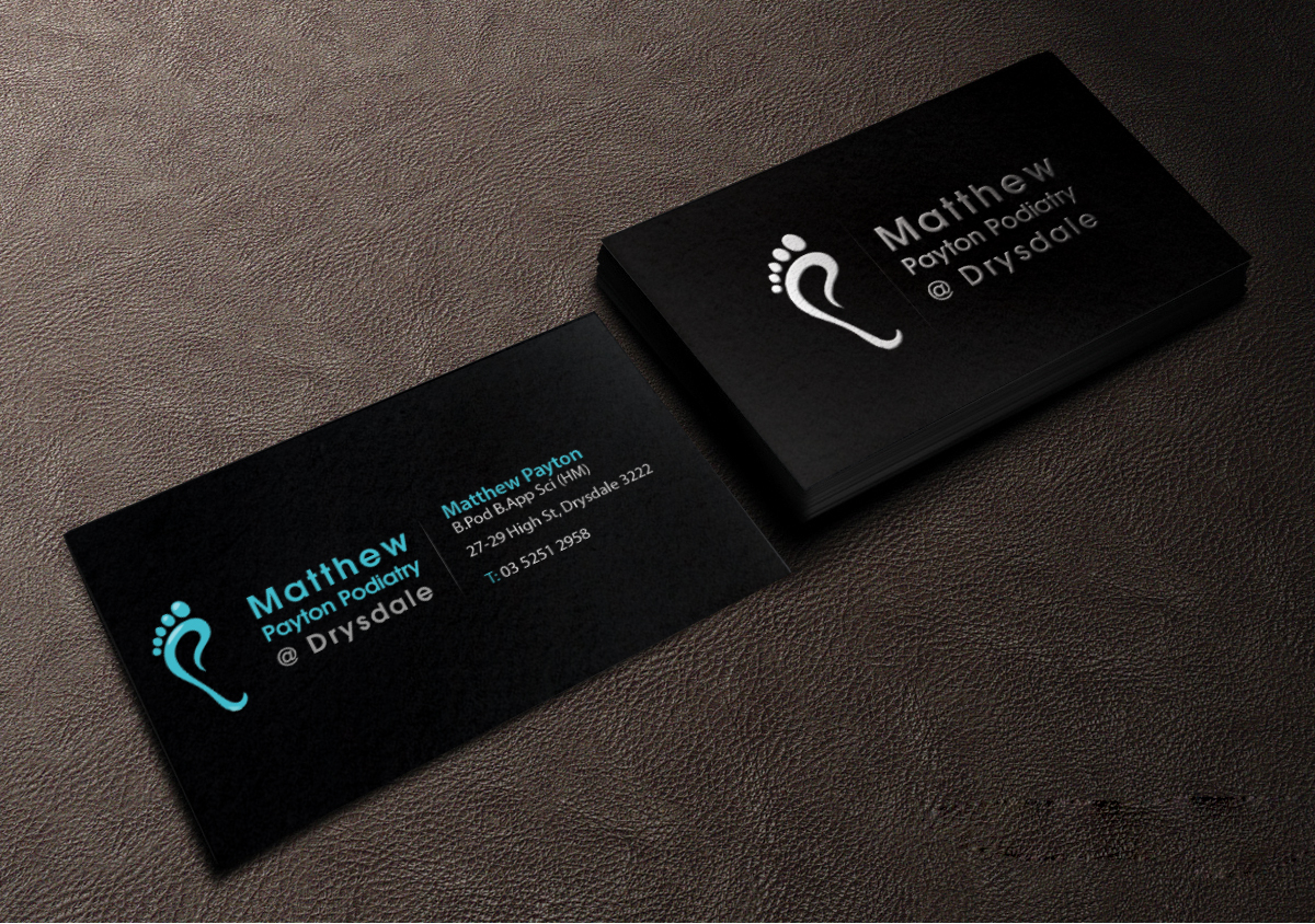 Bold professional health care business card design for a company business card design by creations box 2015 for this project design 6905584 reheart Choice Image