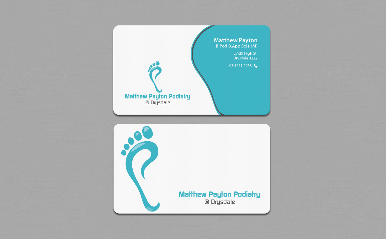 Bold, Professional Business Card Design for Matthew Payton by ...