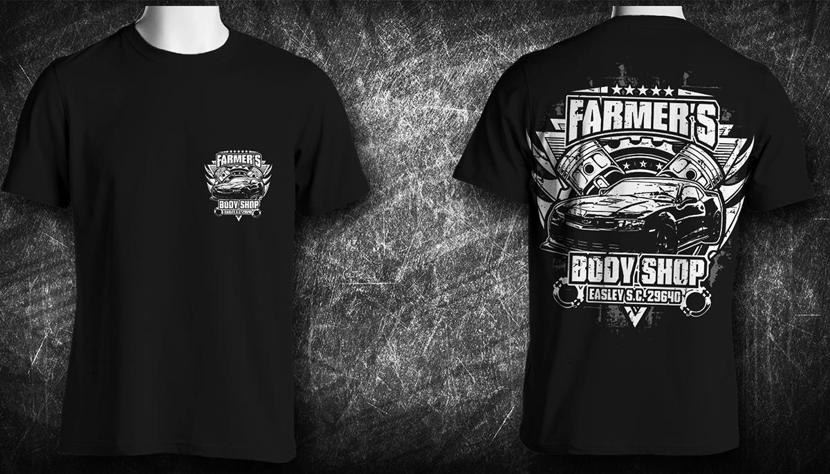 T Shirt Design By Jonya For Farmer S Body 6948078