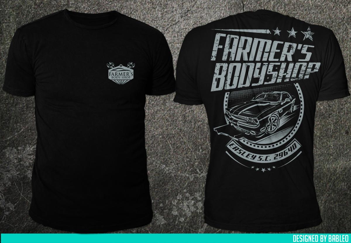 Bold Modern Farmer T Shirt Design For S Body In United States 6984928