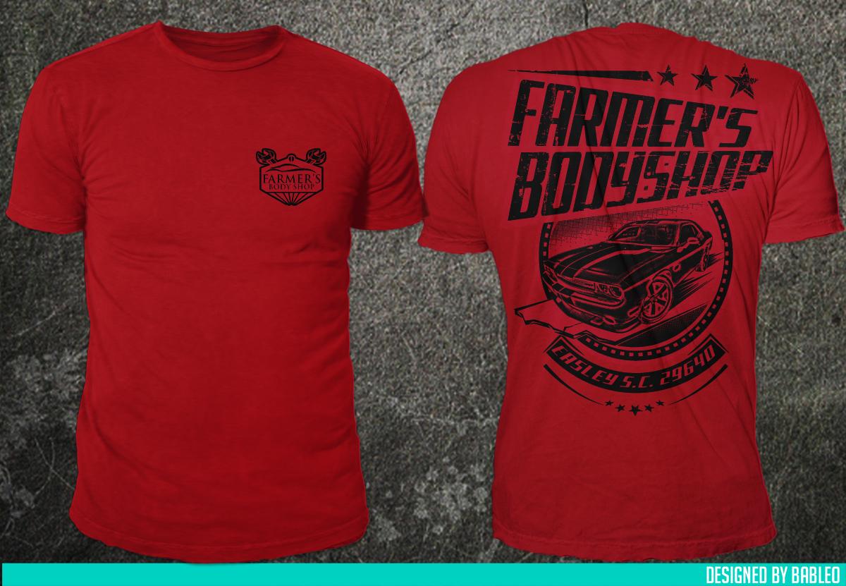 Bold Modern Farmer T Shirt Design For S Body In United States 6984930