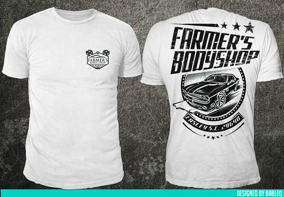 Bold Modern Farmer T Shirt Design For S Body In United States 6984932