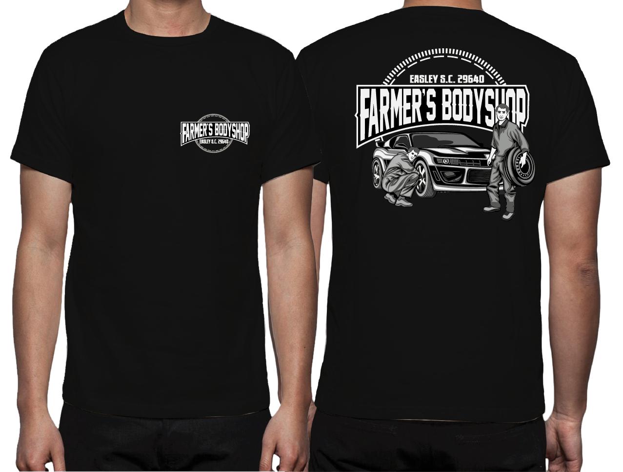 Bold Modern Farmer T Shirt Design For S Body In United States 6966080