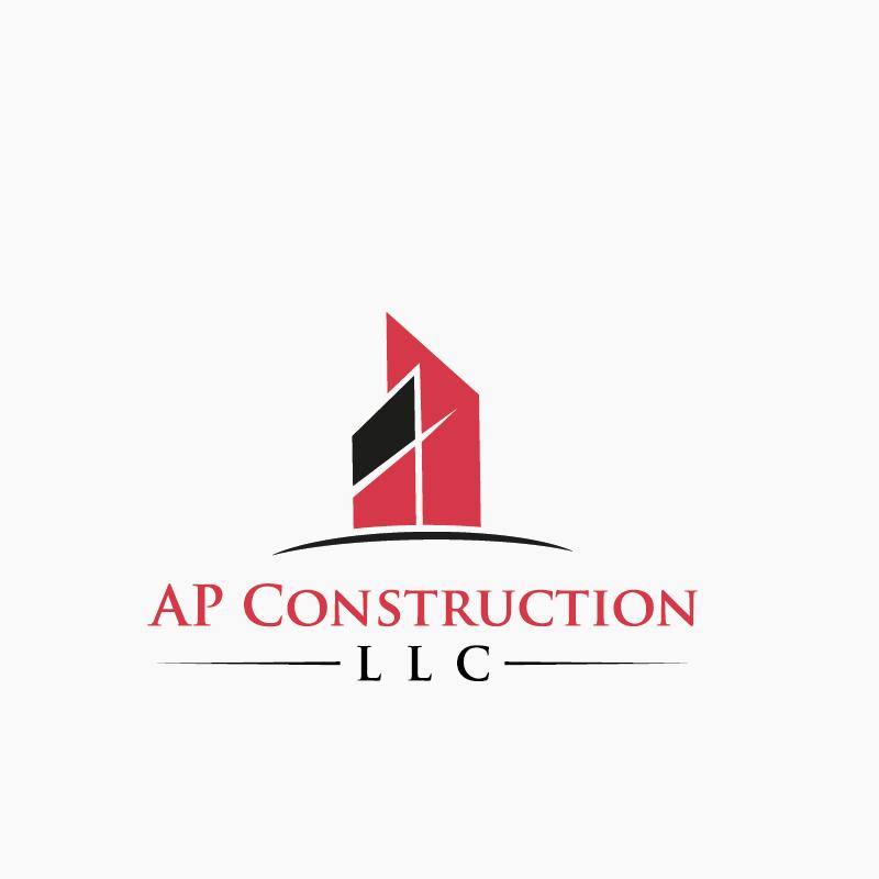 Blueprint construction llc mountain village home builder playful professional construction logo design for ap malvernweather Image collections