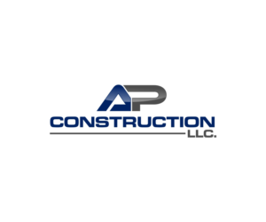 ap construction llc logo design by jenny