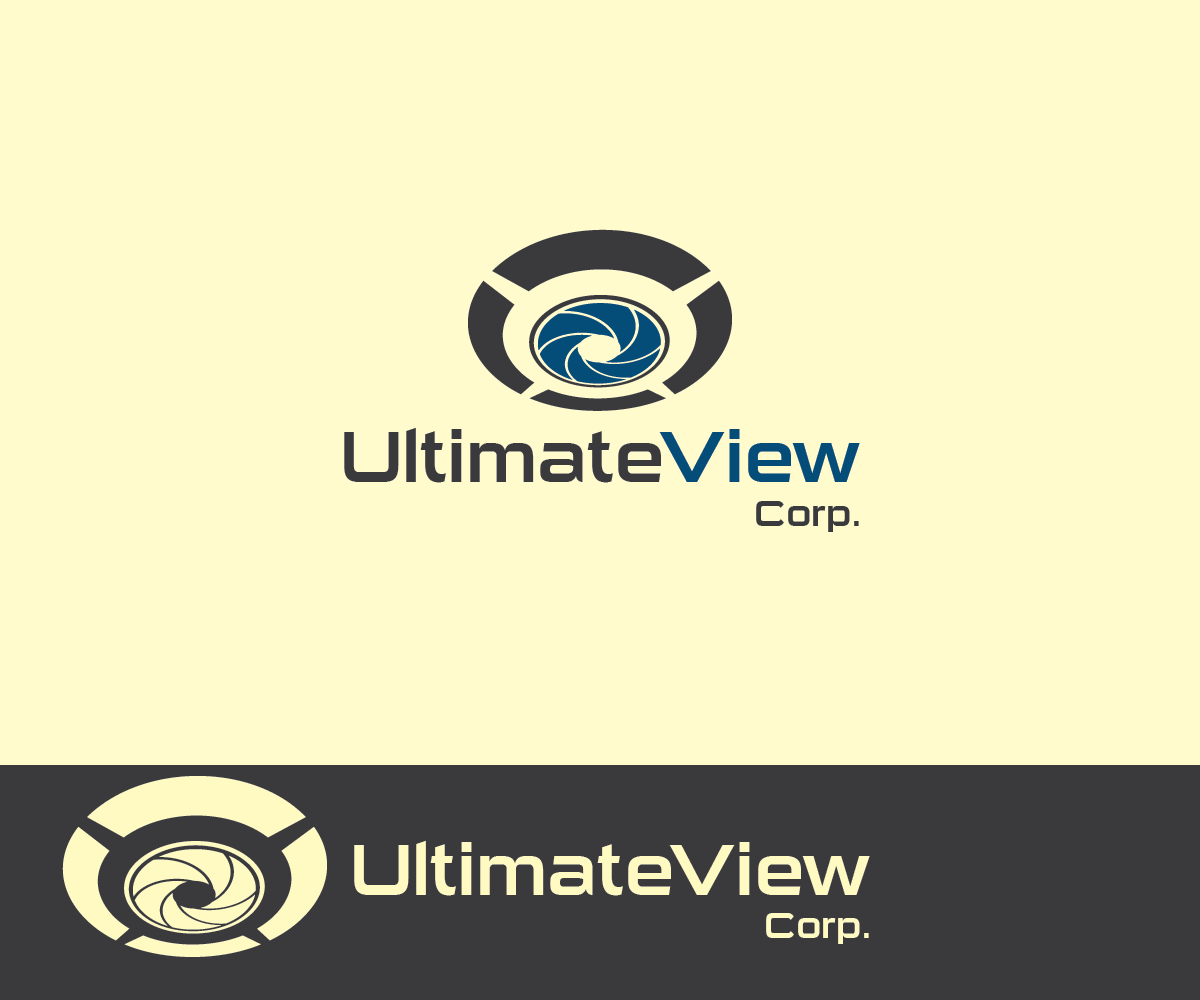 Serious, Professional, Digital Logo Design for Ultimate View Corp ...