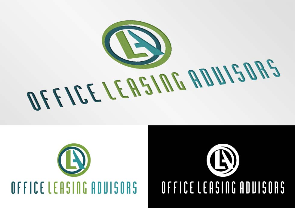 Atrevido Serio Logo Design For Office Leasing Advisors By