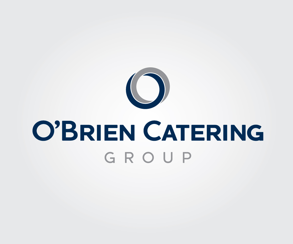 Andrew Kwong serious, professional, catering logo design for o'brien
