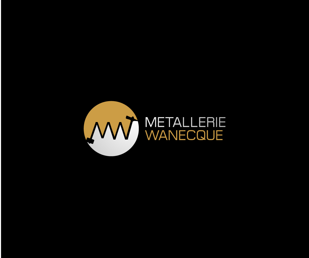 Personable elegant metal fabrication logo design for for Logo creation wizard