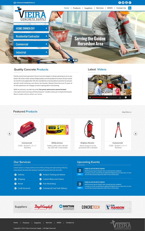 Masculine modern web design for josh by sbss design for Masculine web design