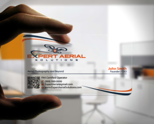 Drone business card design galleries for inspiration south florida drone company needs new business card design business card design by stylez designz reheart Images