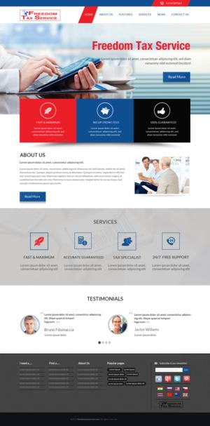 Web page design income