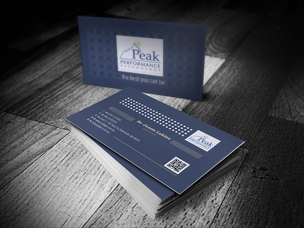 Modern, Professional, Business Business Card Design for Peak ...