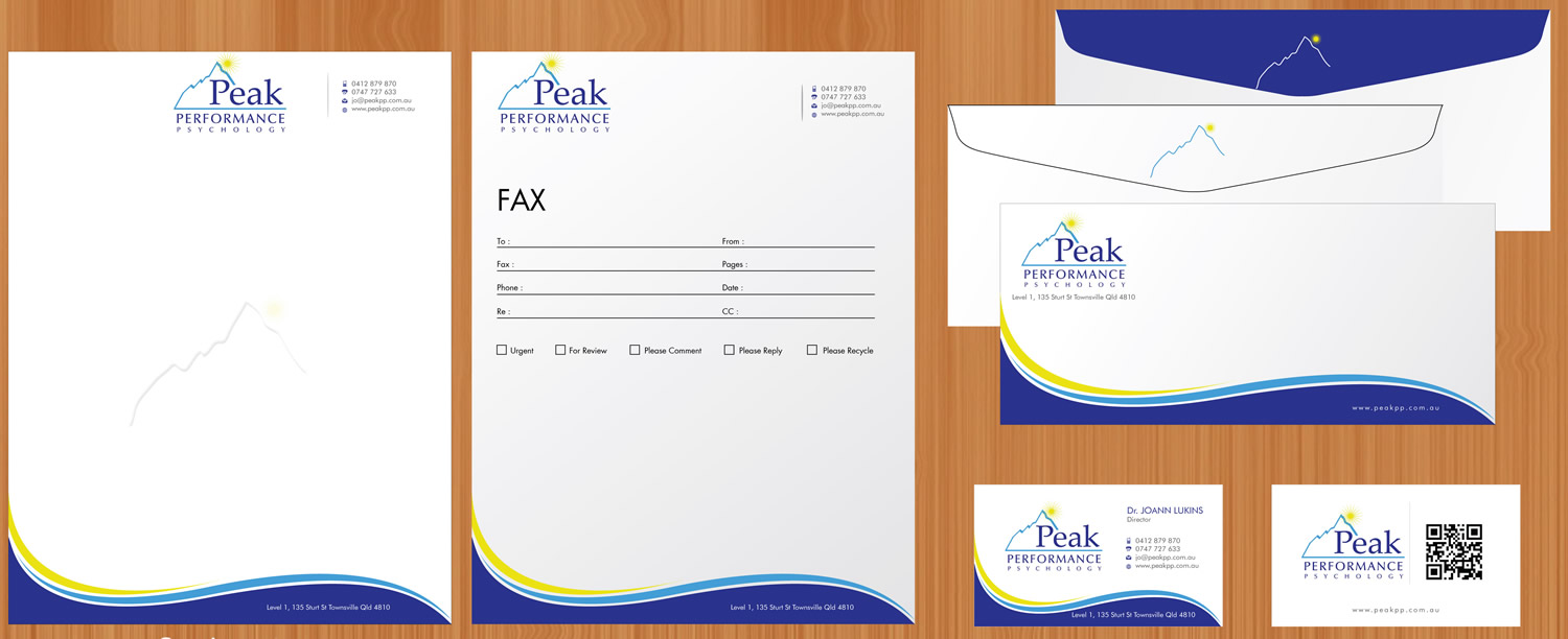 Modern, Professional, Business Business Card Design for Peak ...