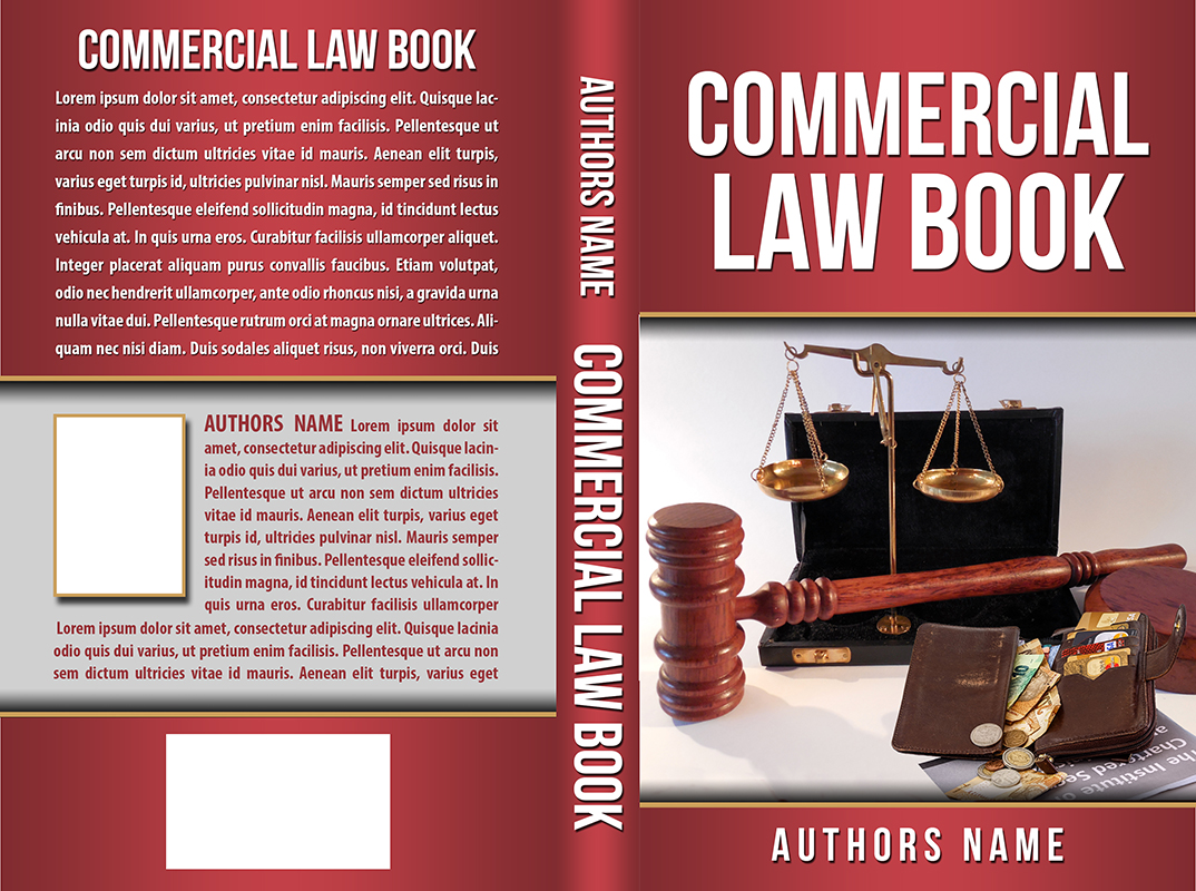 Law Book Cover Design : Professional book cover designs for a business in qatar