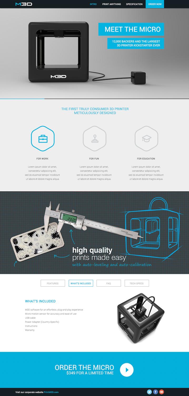 Modern masculine web design for ds jones llc by dii for Masculine web design