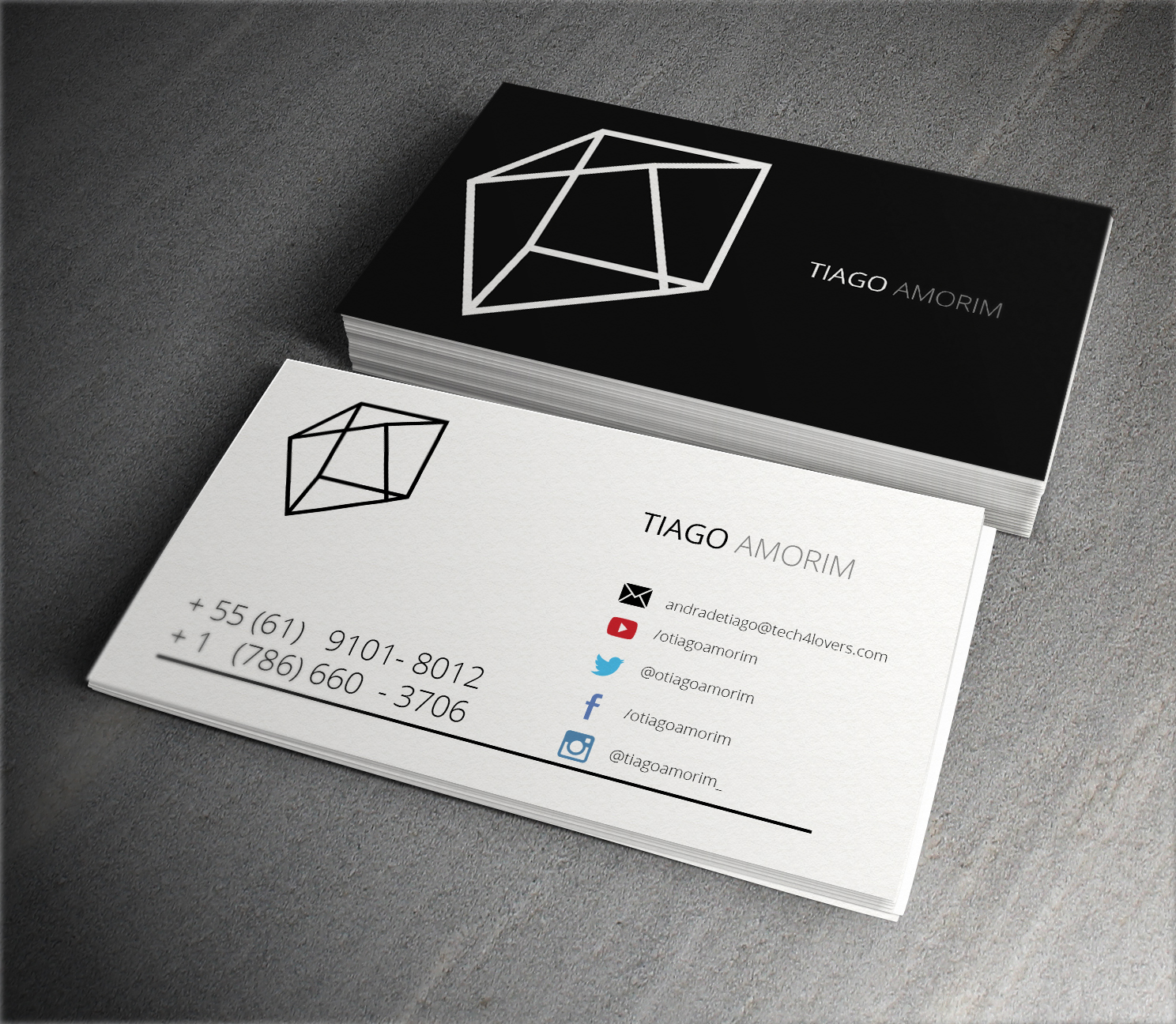Business Card Minimalist Business And Birthday Card Inspiration