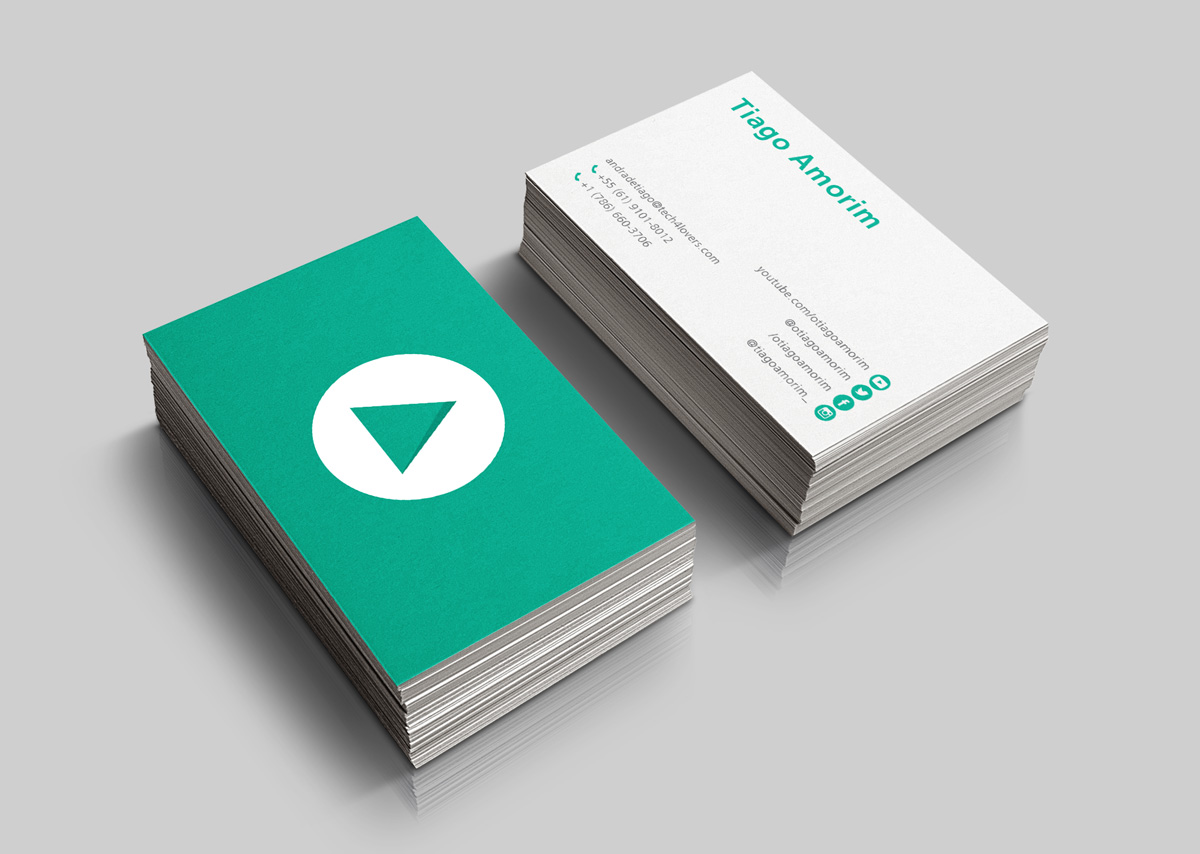 Modern, Masculine, Business Business Card Design for Tiago Amorim by ...