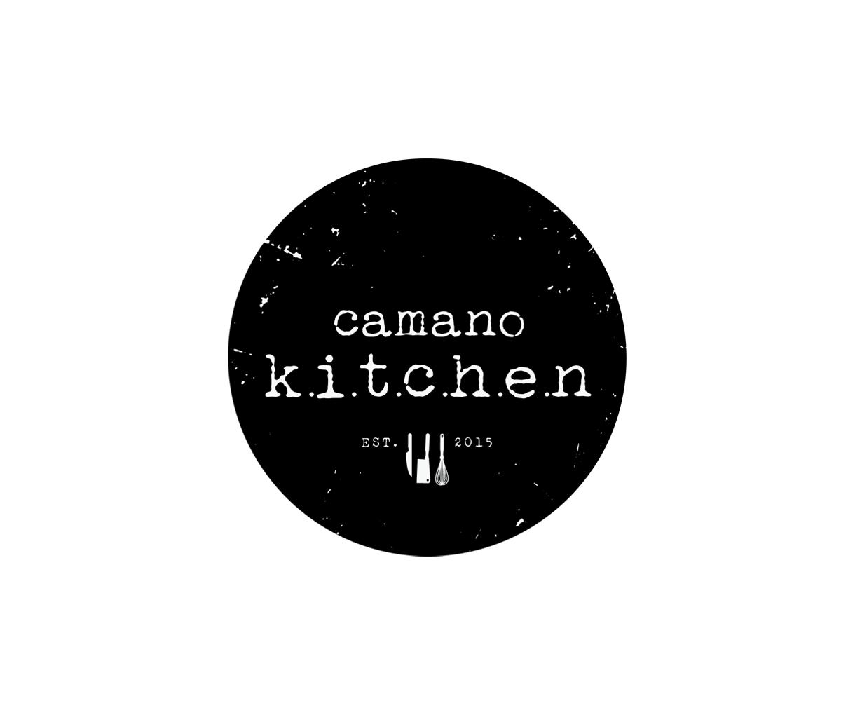 Camano Kitchen Logo Design by JefferexZ