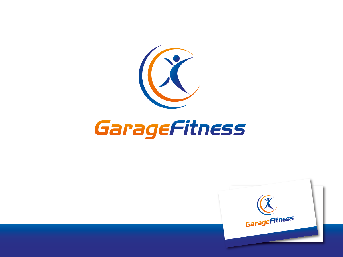 Environment logo design for garage fitness by artcrowd