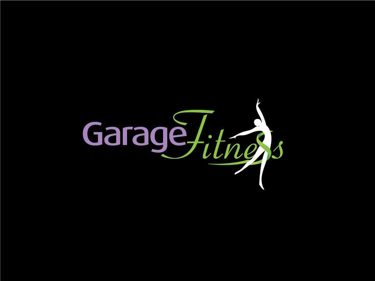 Environment diseño de logo for garage fitness by dev