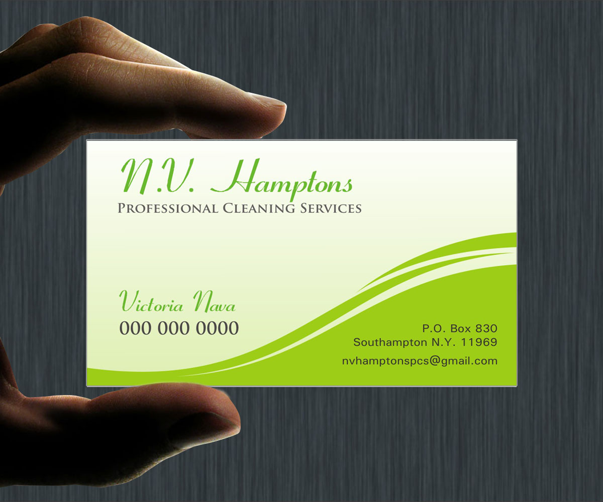 Business card design for victoria by poonam gupta design 6993190 business card design by poonam gupta for professional residencecommercial and post construction cleaning services magicingreecefo Gallery