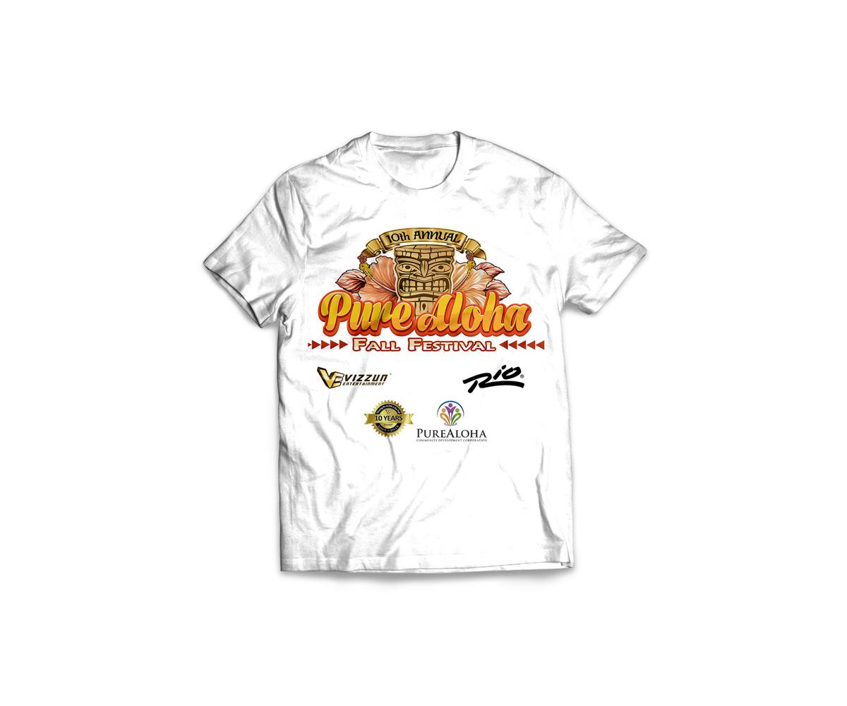 Elegant playful festival t shirt design for vizzun for T shirt design festival