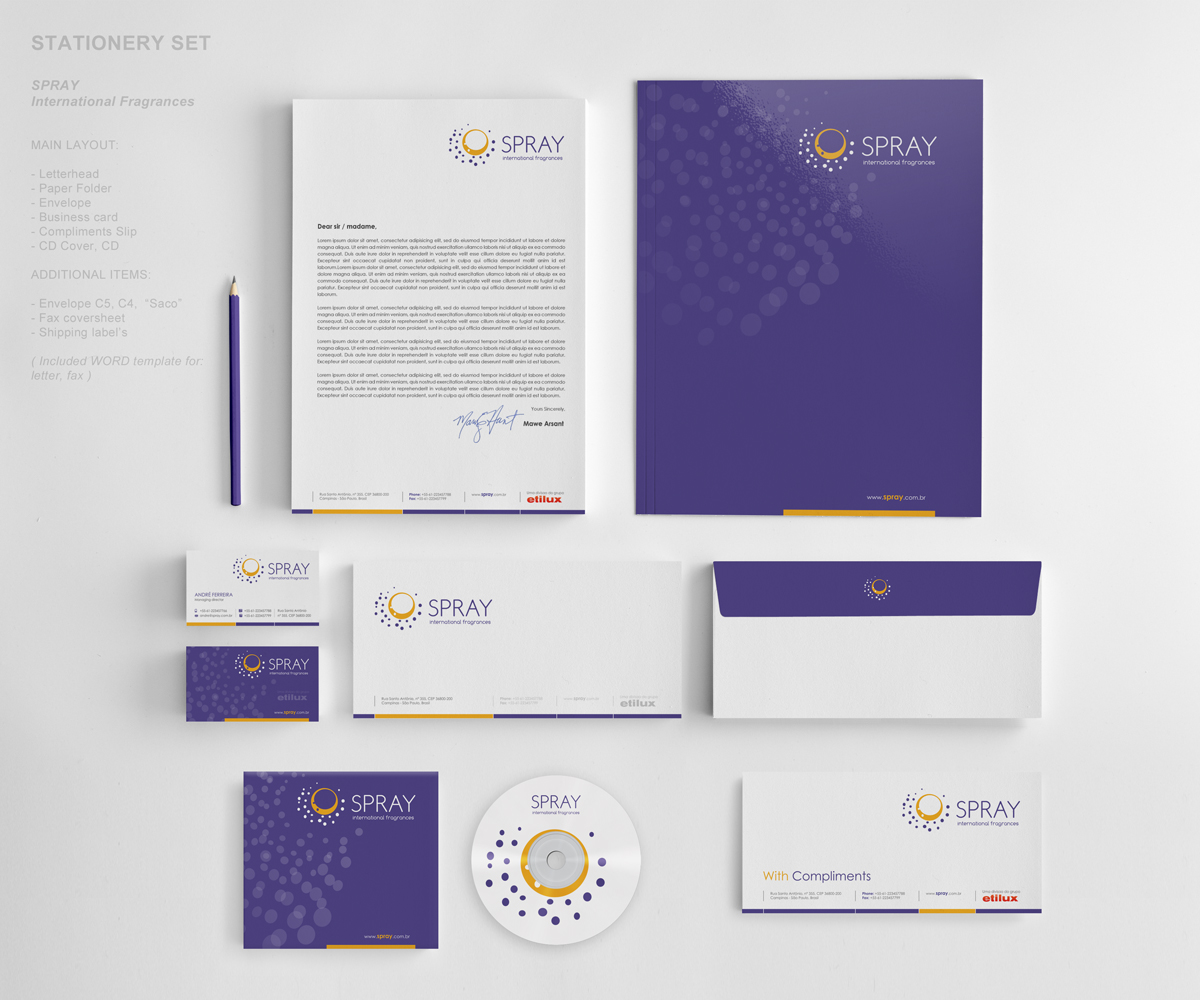 Modern professional it company stationery design for unique by modern professional it company stationery design for unique in brazil design 1795300 reheart Image collections