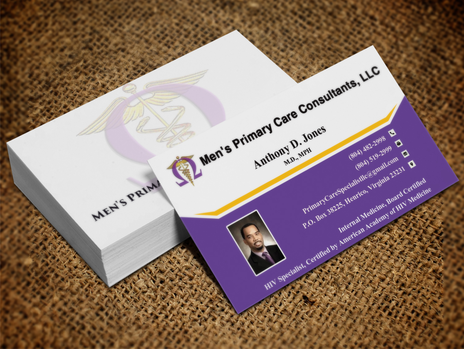 Serious, Modern Business Card Design for Anthony by Pawana ...