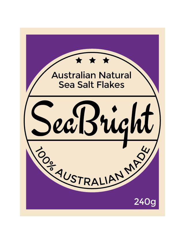Upmarket elegante label design for australian flake salt for Australian design firms