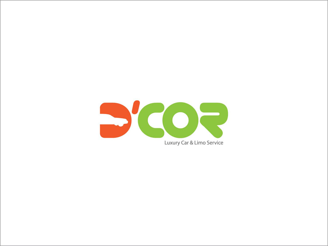 Serious Modern It Company Logo Design For D Cor Luxury Car Limo