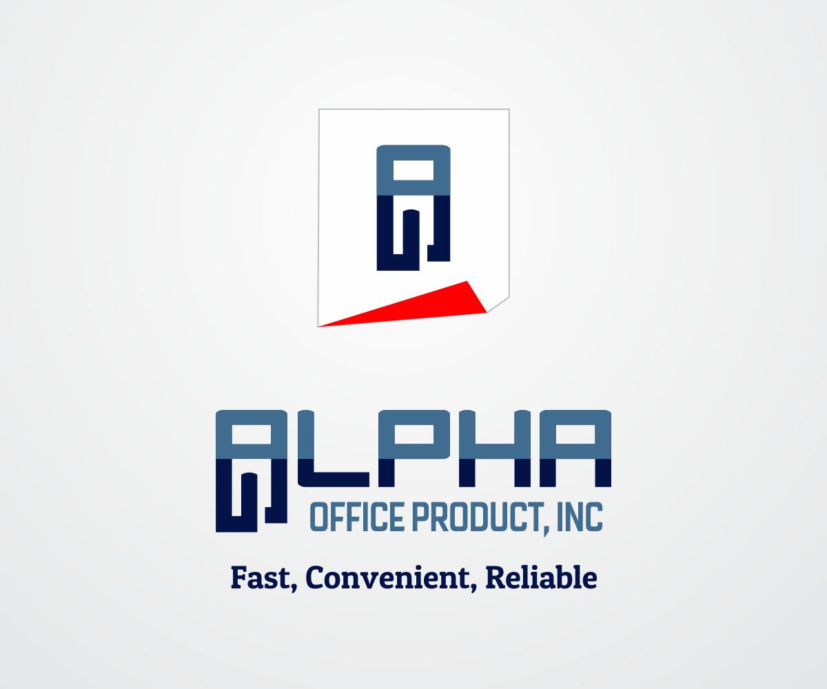 Etonnant Logo Design By Nino Prasetya For Alpha Office Products, Inc. | Design  #7285667