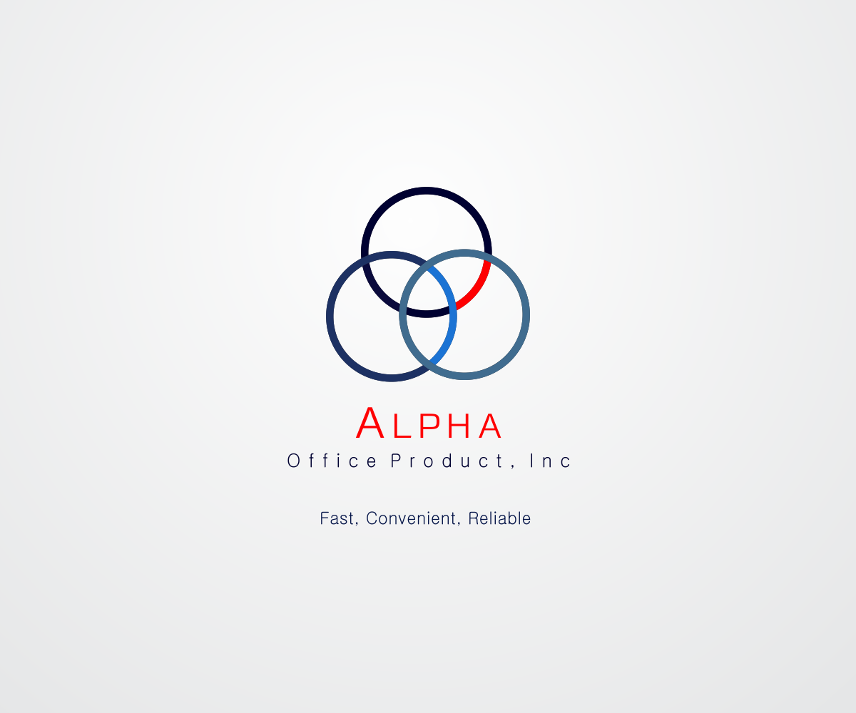 Delicieux Logo Design By Nino Prasetya For Alpha Office Products, Inc. | Design  #7327994