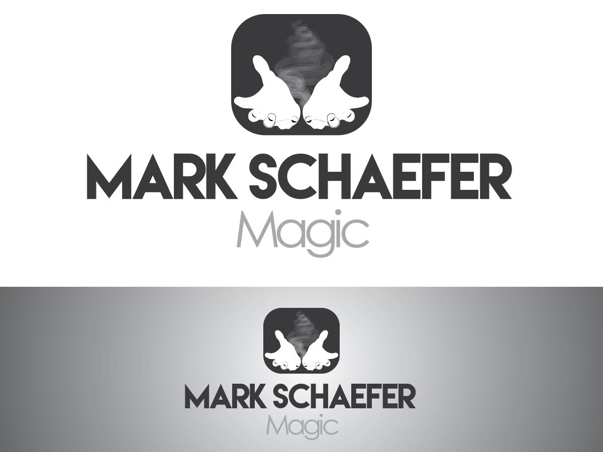 Modern upmarket logo design for mark schaefer by kimdesigner logo design by kimdesigner brilliant webdesign for mark schaefer magician business card magicingreecefo Choice Image