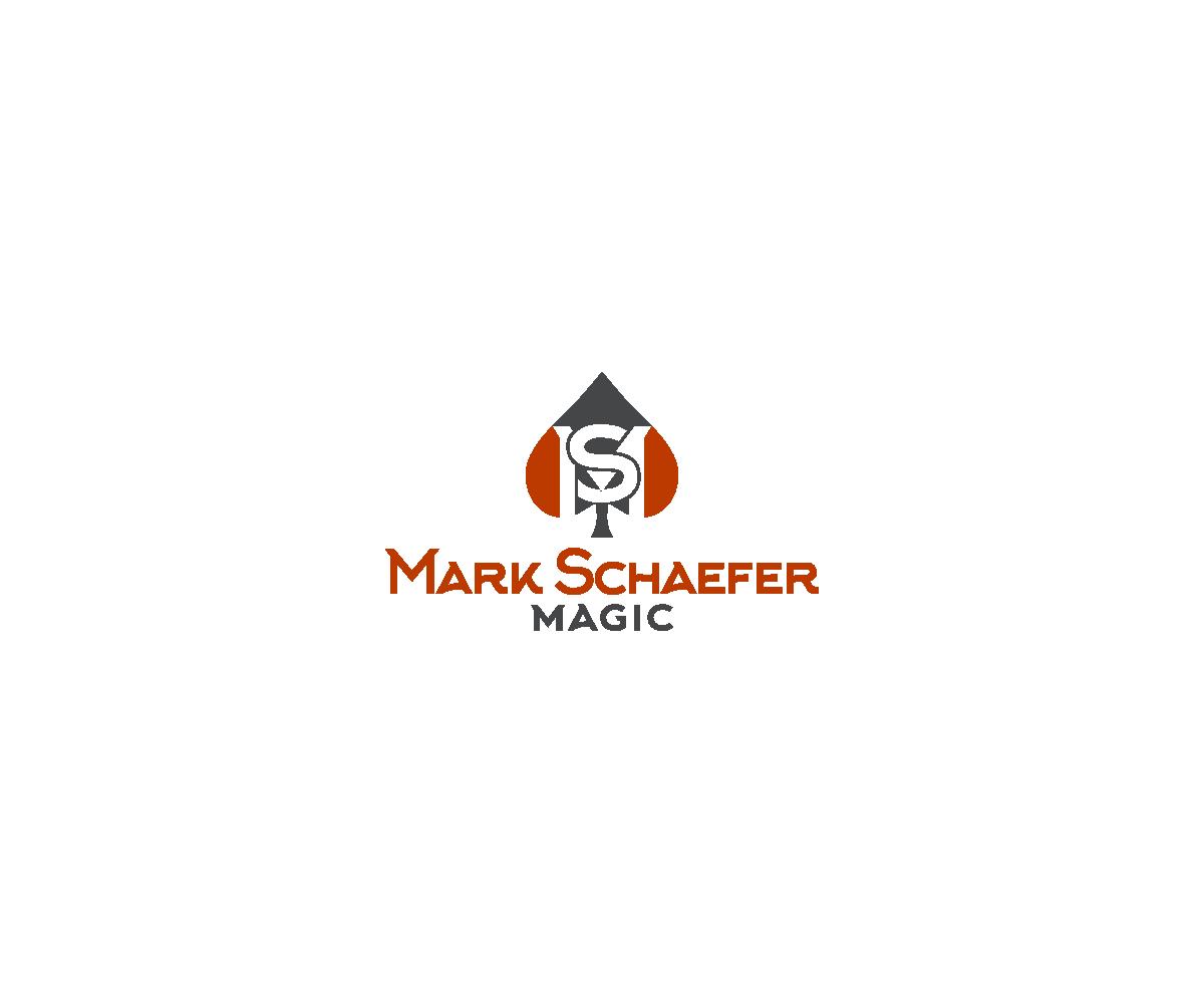 Modern upmarket logo design for mark schaefer by dvynaart logo design by dvynaart for mark schaefer magician business card design 6974161 magicingreecefo Choice Image