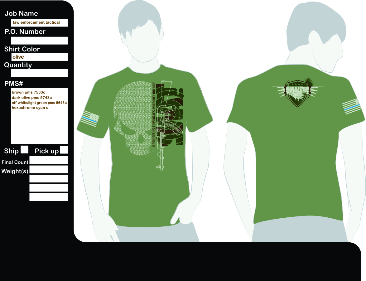 Serious Masculine T Shirt Design For Yaniel Morejon By