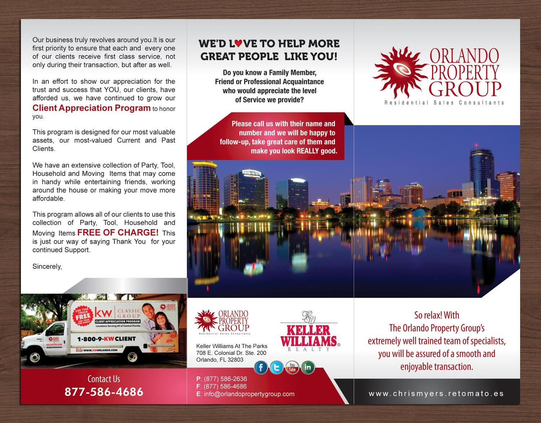 Upmarket Property Development Brochures : Upmarket bold residential brochure design for orlando