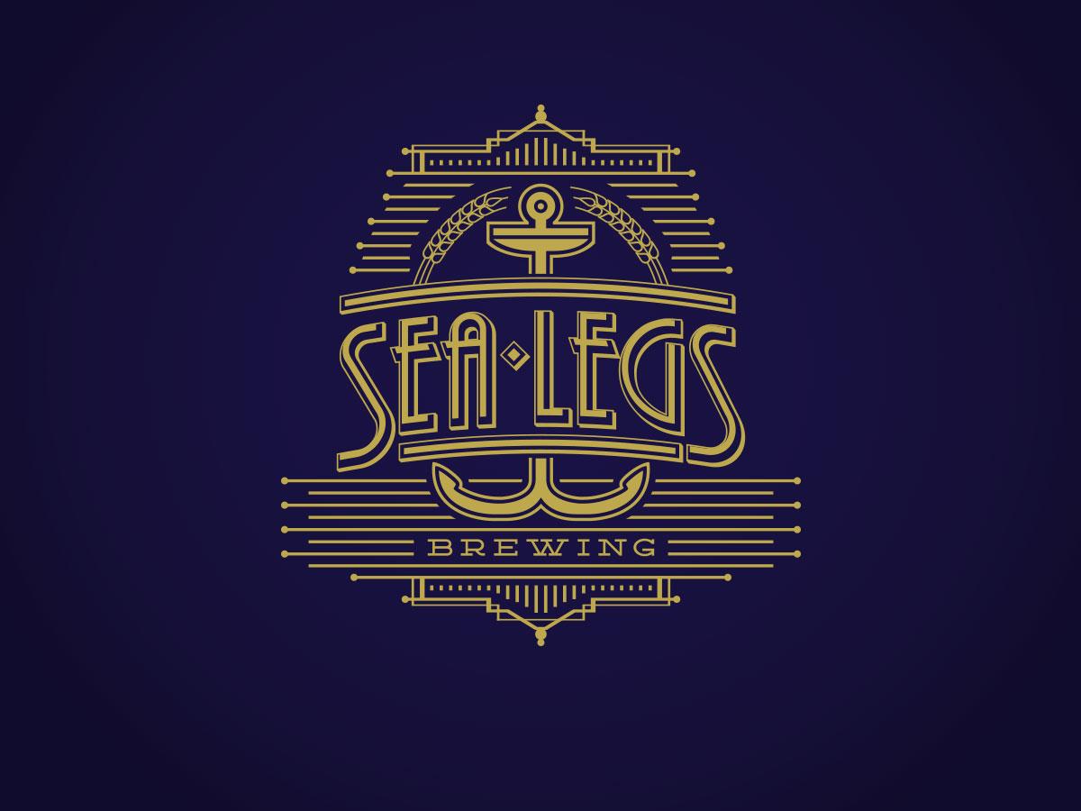 Männlich, Gehobenes, Restaurant Logo-Design für Sea Legs ...