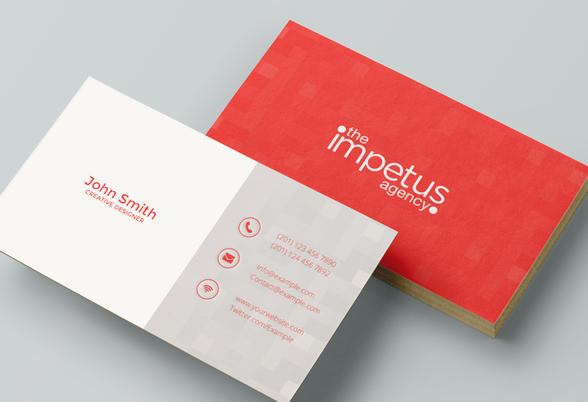 Modern, Feminine, Public Relation Business Card Design for The ...